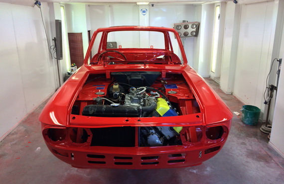 lancia fulvia reassemble