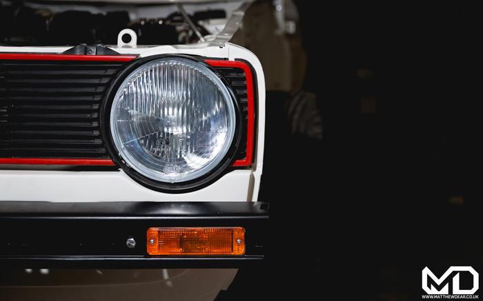 Mk1 Golf GTI Front