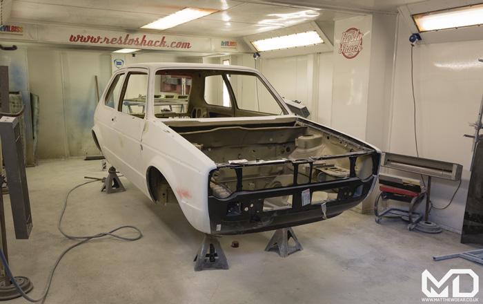 Red MK1 GTI Restoration