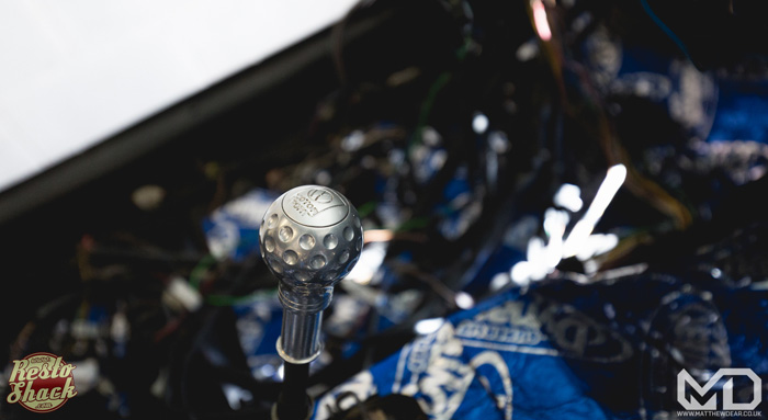 Rallye motorsport gear knob