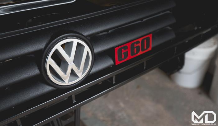 VW Rallye grille
