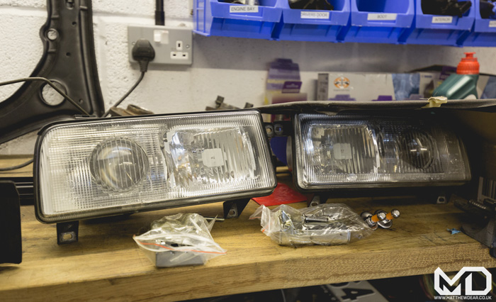 Refurbished Rallye Headlights