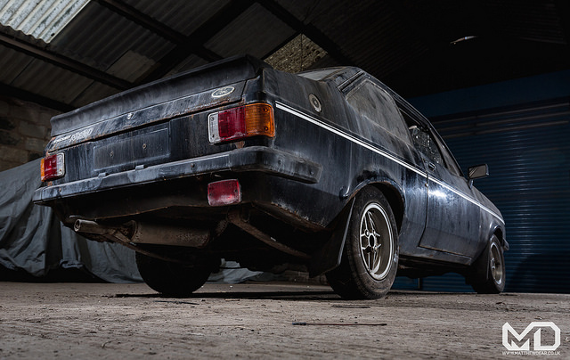 Ford Escort RS2000 rear