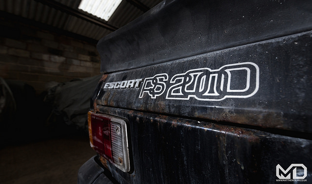 Ford Escort RS2000 badge