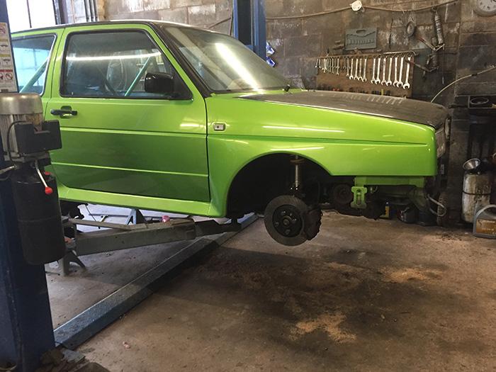 Bill Rallye brakes