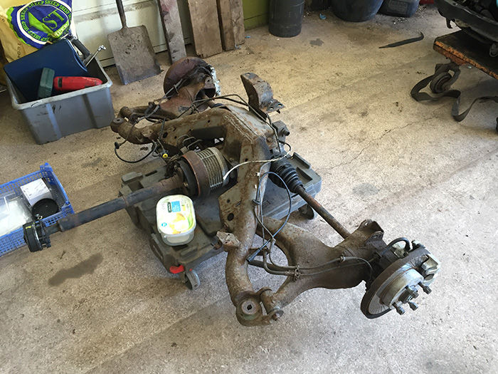 Bill Rallye Rear subframe